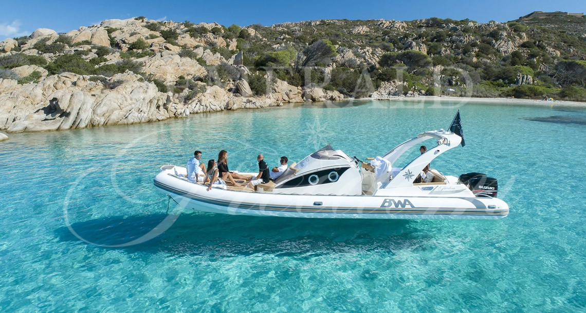 exclusive tour in rib at la maddalena island sardinia or emerald coast with emerald cruises