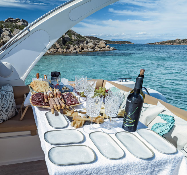 happy hour on boat la maddalena sardinia
