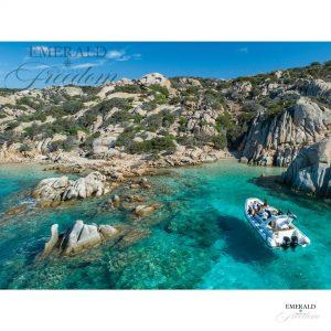 emerald cruises rib escursioni all'arcipelago di La Maddalena in gommone