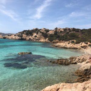 spiaggia di Cala Caprarese a Caprera