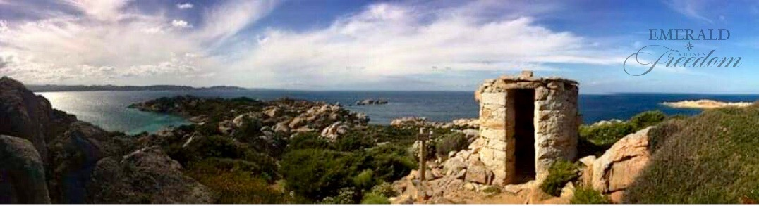 Punta Crucitta attraction in Caprera Island Sardinia