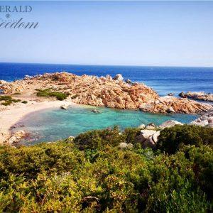 spiaggia di punta crucitta isola Caprera