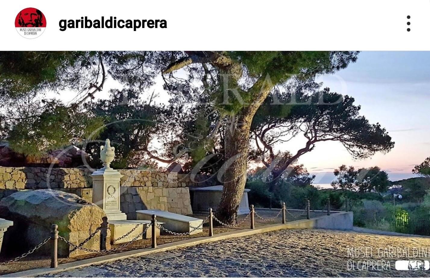 Garibaldi house in the island of Caprera Sardinia Italy