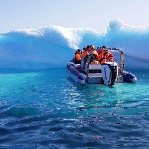 rib in escursione fra i ghiacciai